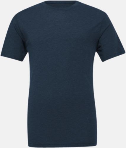 Steel Blue Triblend heather (unisex) T-shirts för vuxna & barn - med reklamtryck
