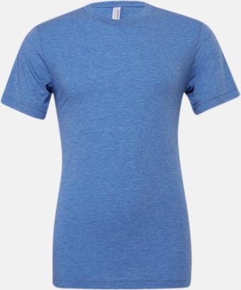 True Royal Triblend heather (unisex) T-shirts för vuxna & barn - med reklamtryck