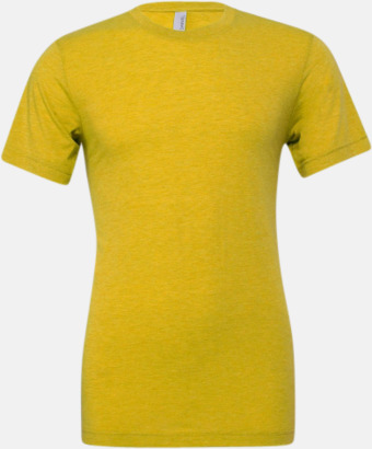 Yellow Gold Triblend heather (unisex) T-shirts för vuxna & barn - med reklamtryck