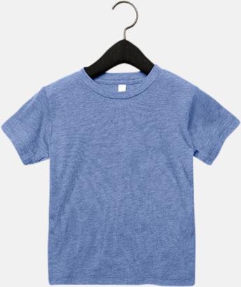 Blue Triblend heather (barn, baby) T-shirts för vuxna & barn - med reklamtryck