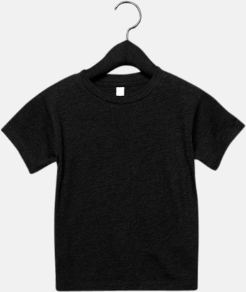 Charcoal-Black Triblend heather (barn, baby) T-shirts för vuxna & barn - med reklamtryck
