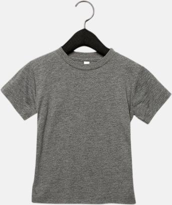 Grey Triblend heather (barn, baby) T-shirts för vuxna & barn - med reklamtryck