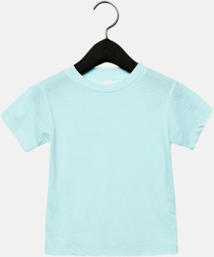 Ice Blue Triblend heather (barn, baby) T-shirts för vuxna & barn - med reklamtryck