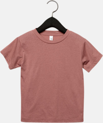 Mauve Triblend heather (barn, baby) T-shirts för vuxna & barn - med reklamtryck