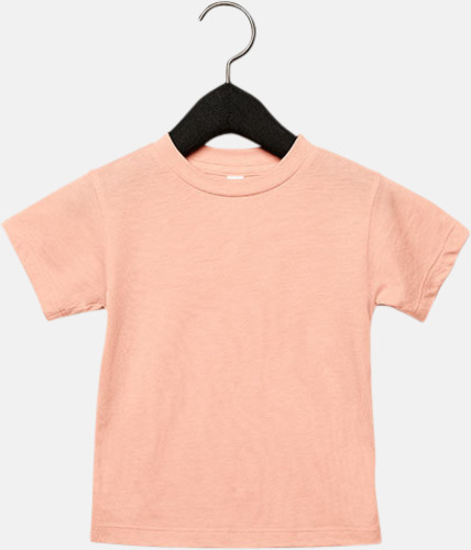 Peach Triblend heather (barn, baby) T-shirts för vuxna & barn - med reklamtryck