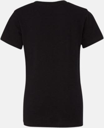 Svart (ungdom) T-shirts för baby, barn & ungdom - med reklamtryck