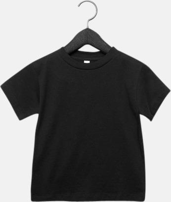 Svart (barn) T-shirts för baby, barn & ungdom - med reklamtryck