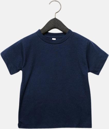 Marinblå (barn) T-shirts för baby, barn & ungdom - med reklamtryck