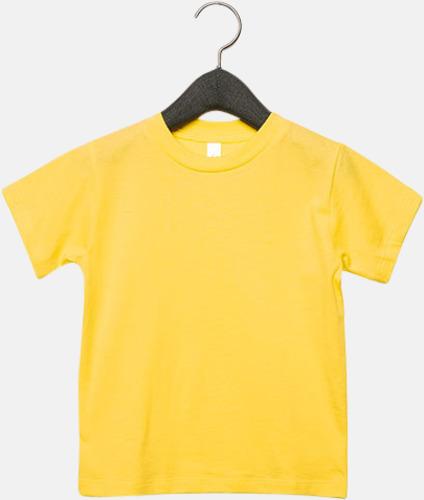 Gul (barn) T-shirts för baby, barn & ungdom - med reklamtryck