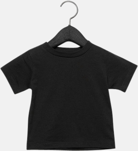 Svart (baby) T-shirts för baby, barn & ungdom - med reklamtryck