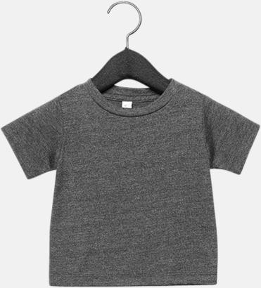 Dark Grey Heather (baby) T-shirts för baby, barn & ungdom - med reklamtryck
