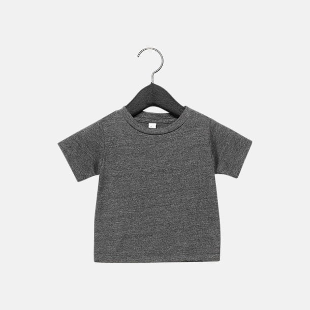 Dark Grey Heather (baby) T-shirts för baby, barn & ungdom - med reklamtryck
