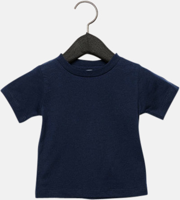 Marinblå (baby) T-shirts för baby, barn & ungdom - med reklamtryck