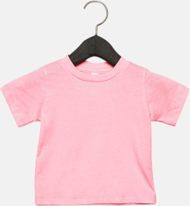 Rosa (baby) T-shirts för baby, barn & ungdom - med reklamtryck