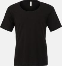 Herr t-shirts med vidare hals - med reklamtryk