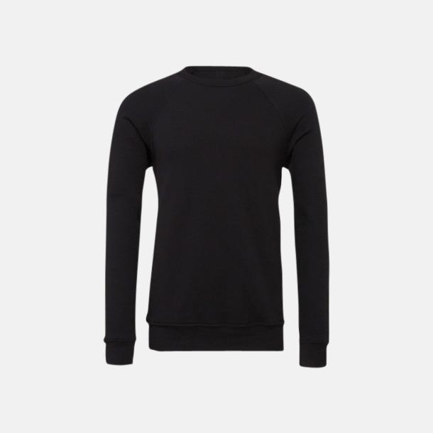 Solid Black Unisextröjor med reklamtryck