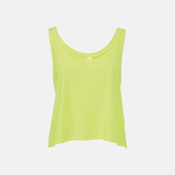 Neon Yellow Extra stora linnen med reklamtryck