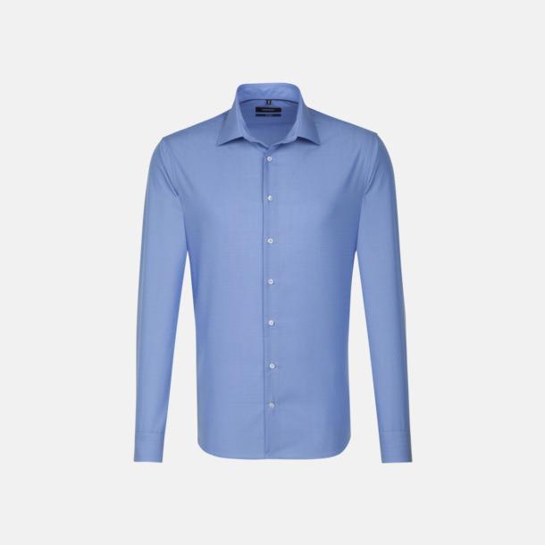 Midblue (herr, tailored fit) Långärmade skjortor & blusar med relamlogo