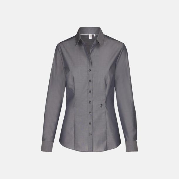 Anthracite (dam) Långärmade skjortor & blusar med relamlogo