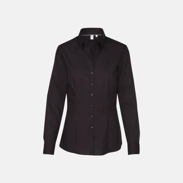 Svart (dam) Långärmade skjortor & blusar med relamlogo
