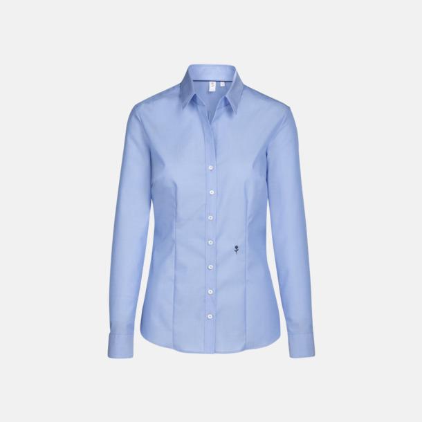 Midblue (dam) Långärmade skjortor & blusar med relamlogo