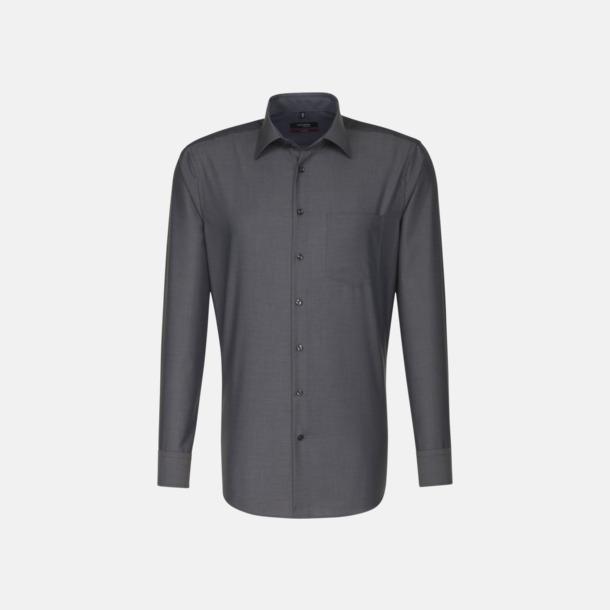 Anthracite (herr) Moderna & exklusiva skjortor med reklamlogo