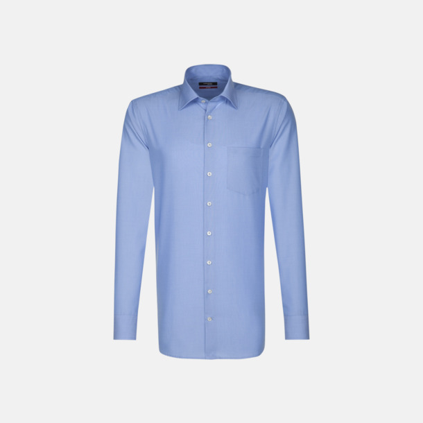 Midblue (herr) Moderna & exklusiva skjortor med reklamlogo