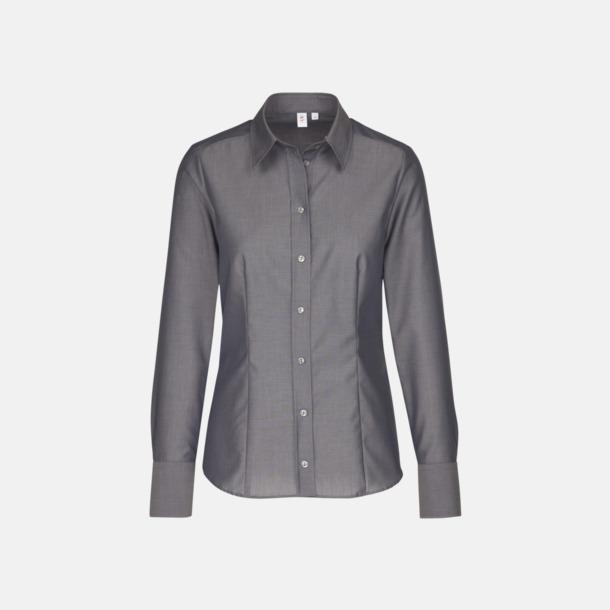 Anthracite (dam) Moderna & exklusiva skjortor med reklamlogo
