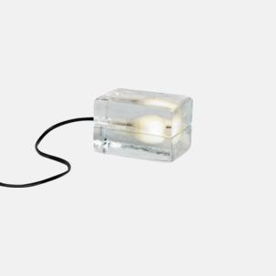 Den välkända blocklampan i mindre format från Design House Stockholm