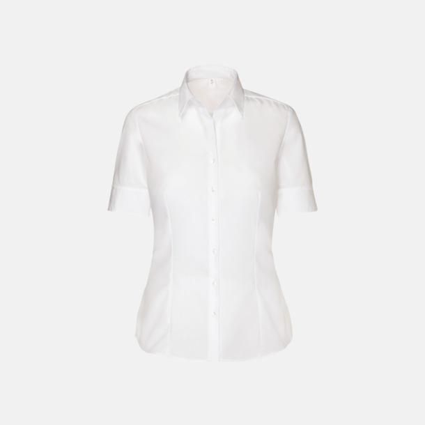 Vit (dam) Kortärmade blusar & skjortor från Seidensticker med reklamtryck
