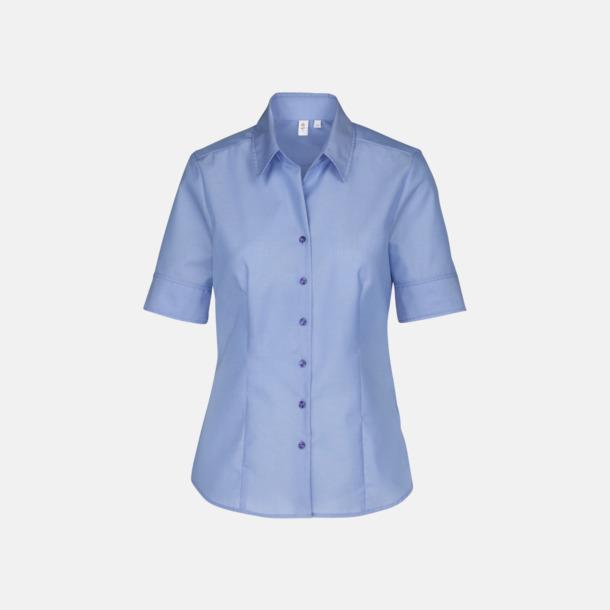 Midblue (dam) Kortärmade blusar & skjortor från Seidensticker med reklamtryck
