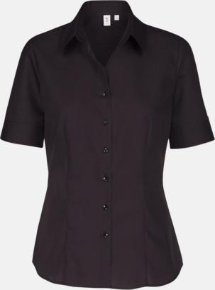 Svart (dam) Kortärmade blusar & skjortor från Seidensticker med reklamtryck