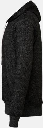 Unisex fleece hoodies med reklamtryck