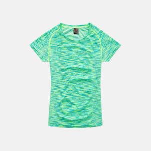 Flerfärgade funktions t-shirts med reklamtryck