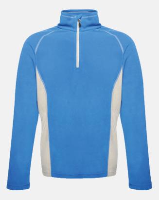 Oxford Blue/Marinblå Unisex fleecejackor med reklamlogo