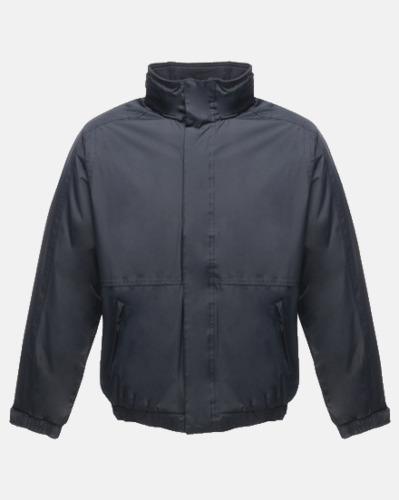 Marinblå (vuxen) Dover jacket från Regatta med reklamtryck