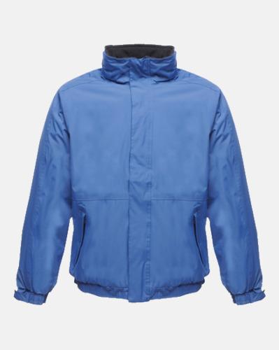 Royal Blue/Marinblå (vuxen) Dover jacket från Regatta med reklamtryck