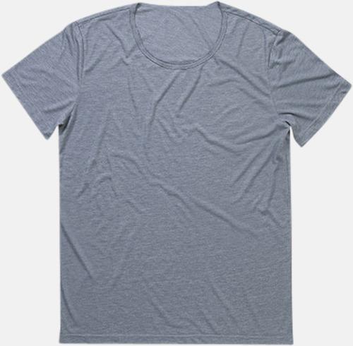 Vintage Blue Extra stora herr t-shirts med reklamtryck