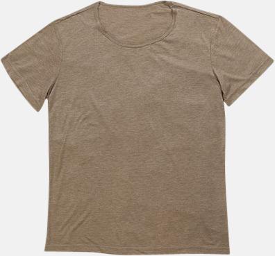 Vintage Brown Extra stora herr t-shirts med reklamtryck