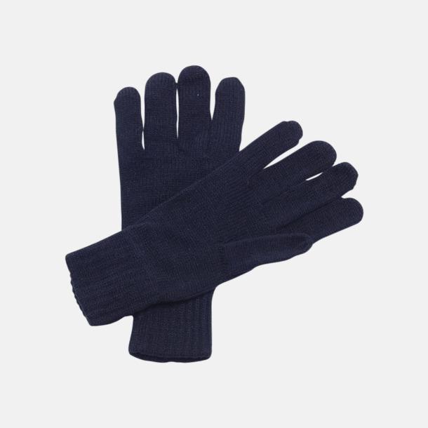 Stickade handskar med reklamlogo
