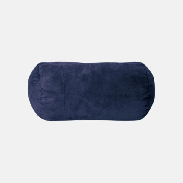 Marinblå Mjuka nackkuddar med reklamlogo
