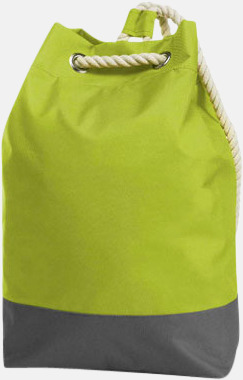 Apple Green Sailorinspirierade ryggsäckar med reklamtryck