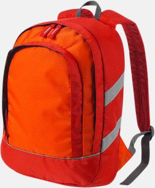 Röd Små ryggsäckar för barn - med reklamtryck