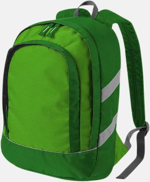 Grön Små ryggsäckar för barn - med reklamtryck