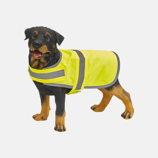 Reflexvästar för hundar - med reklamtryck
