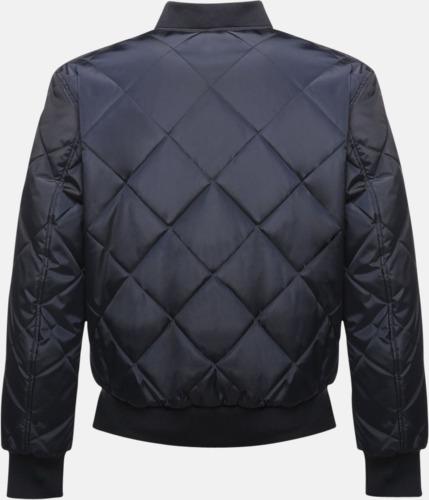 Diamantmönstrade jackor med reklamtryck