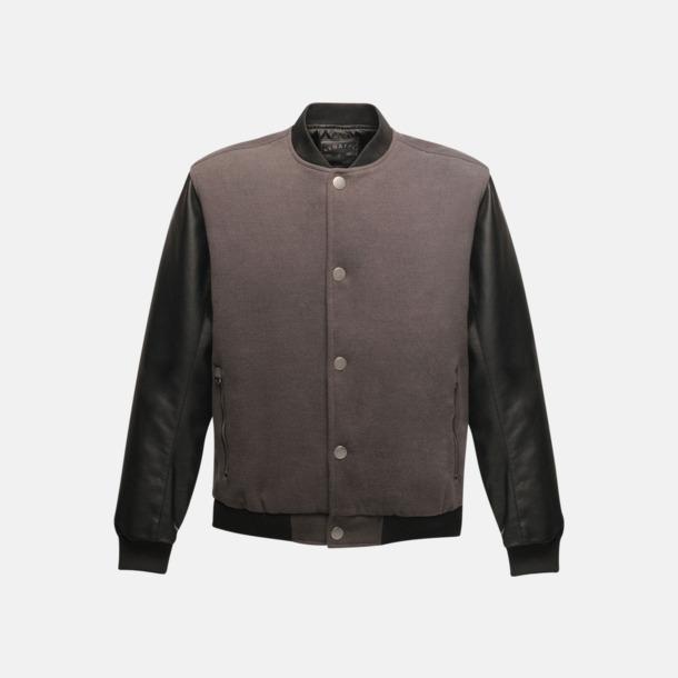 Ash (heather)/Svart Moderna jackor med reklamtryck