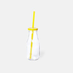 Läskinspirerade vattenflaskor med sugrör - med reklamtryck