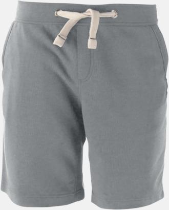 Oxford Grey Unisex shorts med reklamtryck