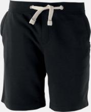 Unisex shorts med reklamtryck